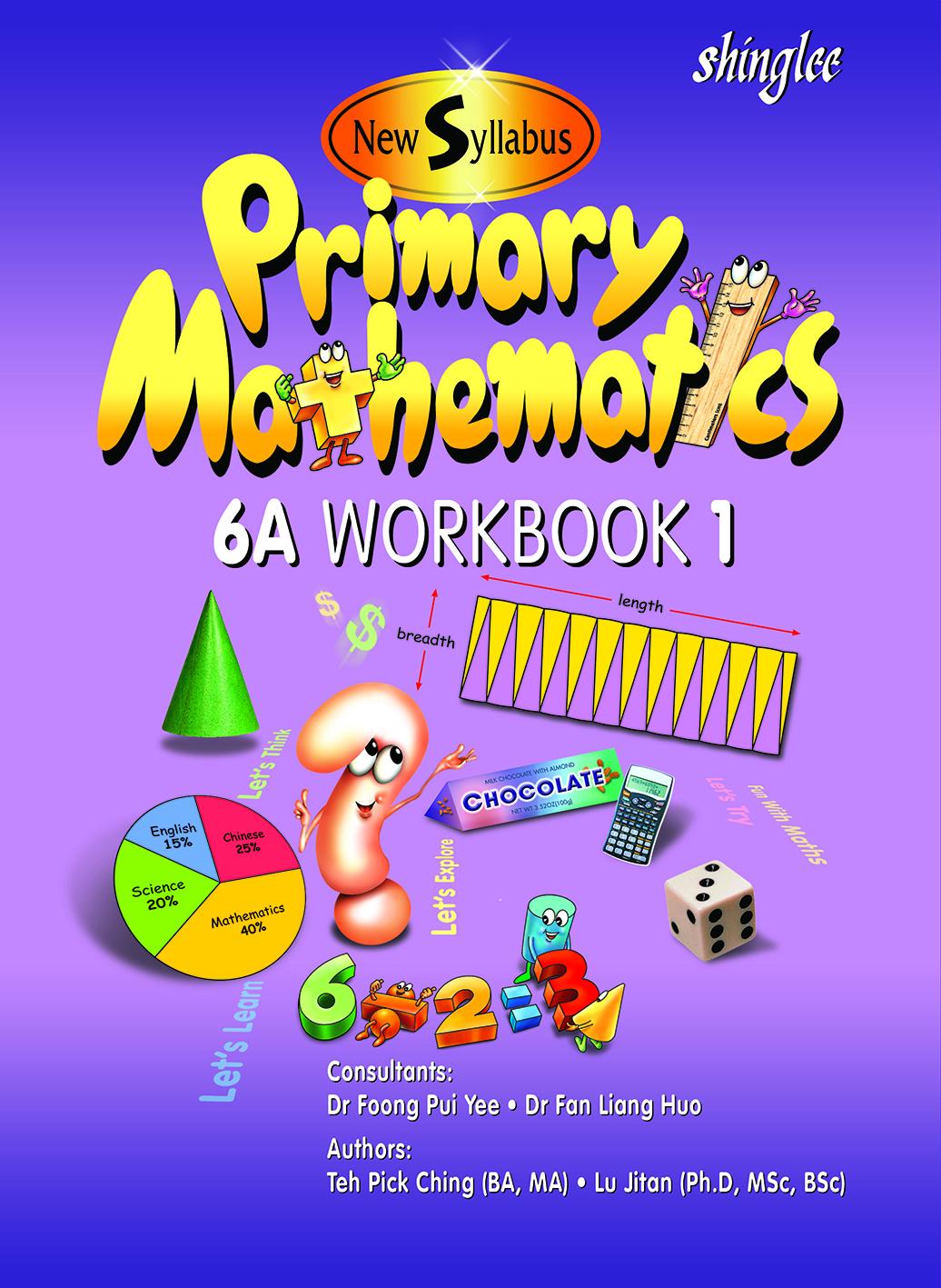 Workbooks primary mathematics workbook : Singapore Edition